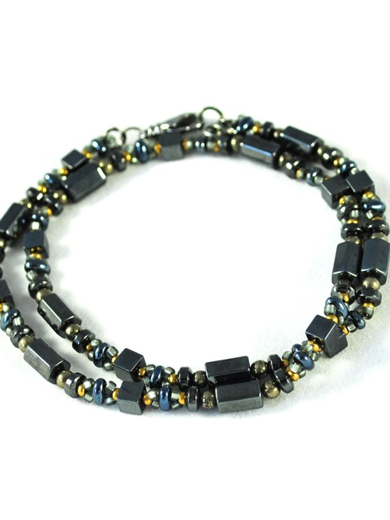 Double Wrap Bracelet for Men
