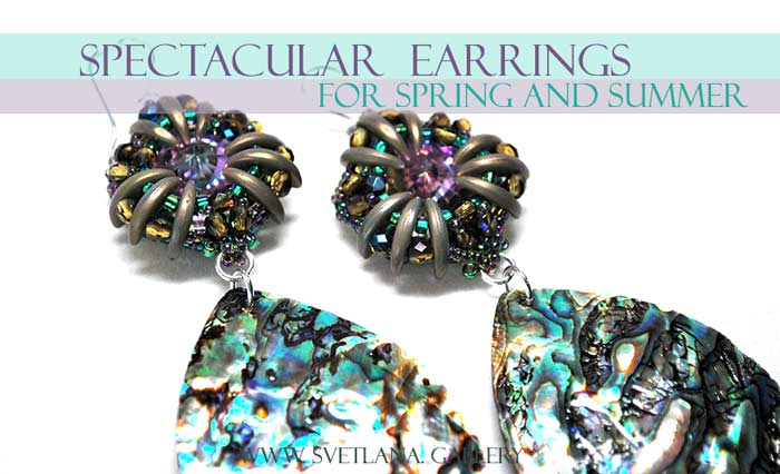 Earrings For Spring And Summer: long and spectacular!