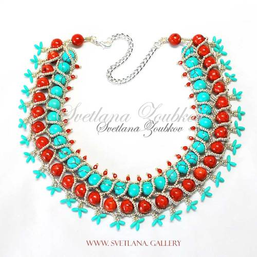 Nerita Necklace Variation - Southwestern Theme