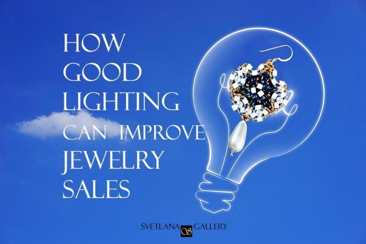 How Good Lighting Can Improve Beaded Jewelry Sales at Craft Shows - Svetlana.Gallery