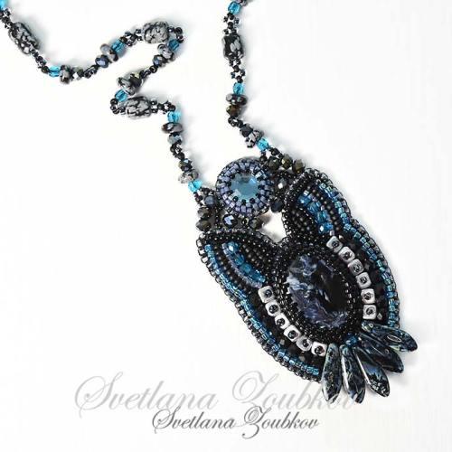 Purrfect Night Necklace by Svetlana Zoubkov