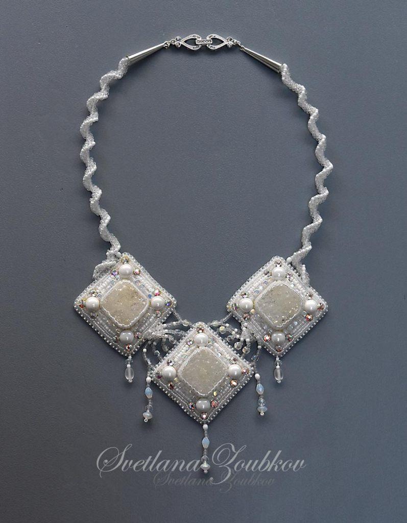 Snow Maiden Necklace designed by Svetlana Zoubkov