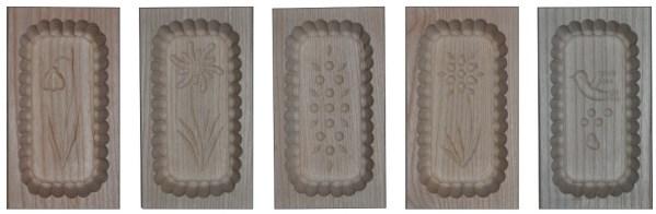 Leseni modeli za maslo 250 g