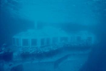 Pogled na restoran iz podmornice