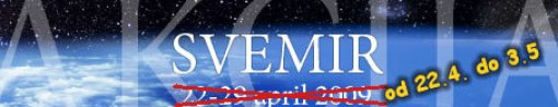 Počni da otkrivaš svemir! (22. april - 3. maj)