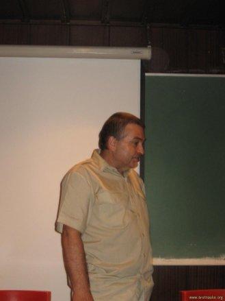 Dragan Radmilović, predsedmik Saveza astronoma amatera Srbije
