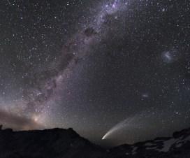 Tri galaksije i kometa [27.10.2013] 5