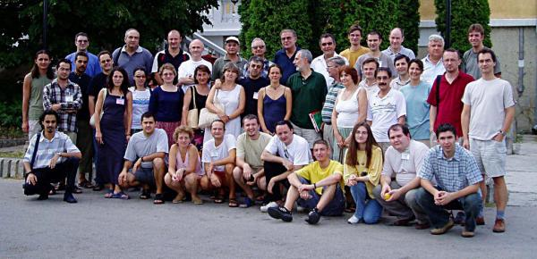 Učesnici prvog Balkan Workshop-a BW2003 (Vrnjacka Banja, Srbija, 29 avgust - 02 septembar, 2003)