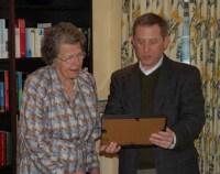 Venetia Phair i Alan Stern, šef New Horizons misije, 2006. godin