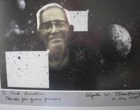 Poster posvećen Tombovom otkriću Plutona