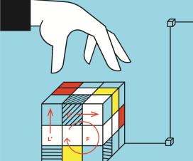 Takmičenje u slaganju Rubikove kocke na Trgu Republike 8