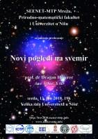 """Predavanje """"Novi pogledi na svemir"""" 1"""