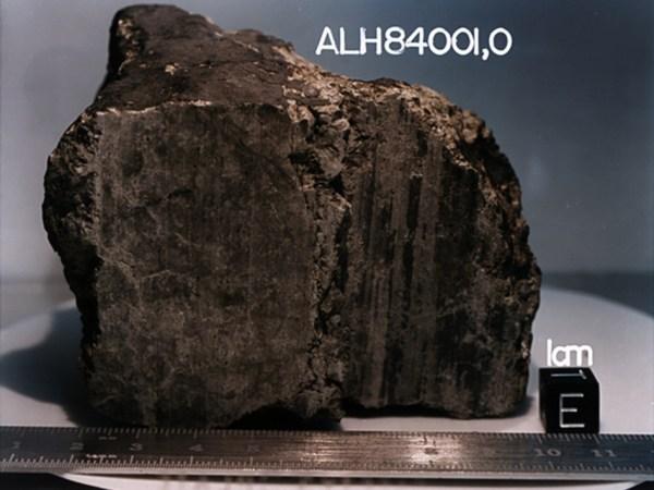 Meteorit sa Marsa ALH84001 1