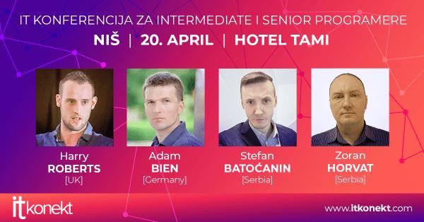 Upoznajte Google i Java eksperte u Nišu na drugoj ITkonekt konferenciji i sajmu 1