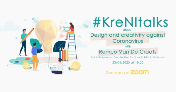 KreNI talks: Dizajn i kreativnost protiv koronavirusa 1