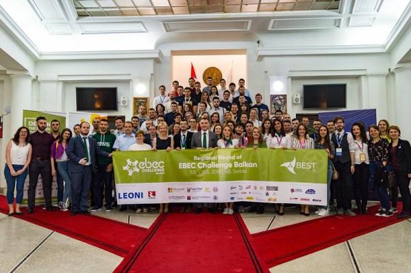 """EBEC Balkan - regionalna runda Evropskog """"BEST"""" inženjerskog takmičenja 1"""