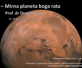 """Predavanje: """"Mars – Mirna planeta boga rata"""" 4"""
