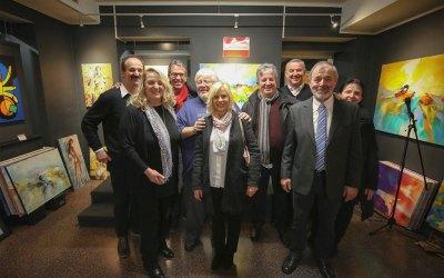 Atelier-Galerie Eröffnung mit Bernd Svetnik