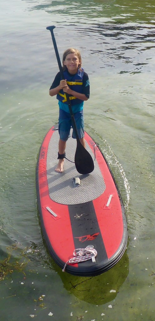 Paddle at the ready.