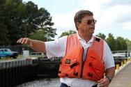 Robert Peake of the Great Dismal Swamp Canal