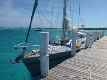 Taking on Water at Little Farmers Cay YC