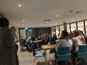 Facilicom met spreekster Yvette Koedijk & JobBuddies met spreekster Natasja Konter