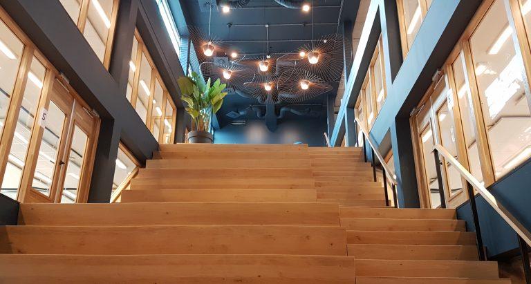 Het Nieuwe Kantoor : Apr bedrijfsbezoek nieuwe kantoor topdesk studievereniging