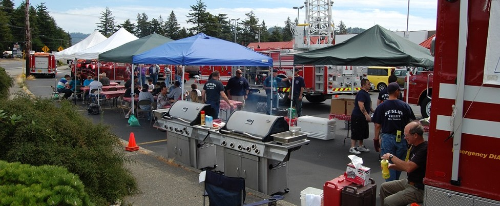 Siuslaw Valley Firefighters Annual BBQ