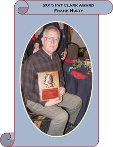 2015 Pat Clark Award