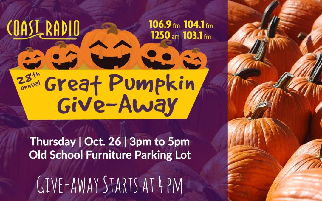 28th Annual Great Pumpkin Give-Away