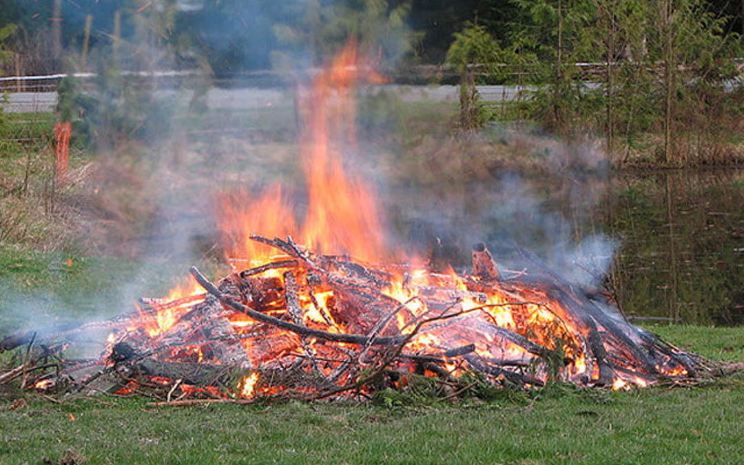 Outdoor Burning rule changes adopted