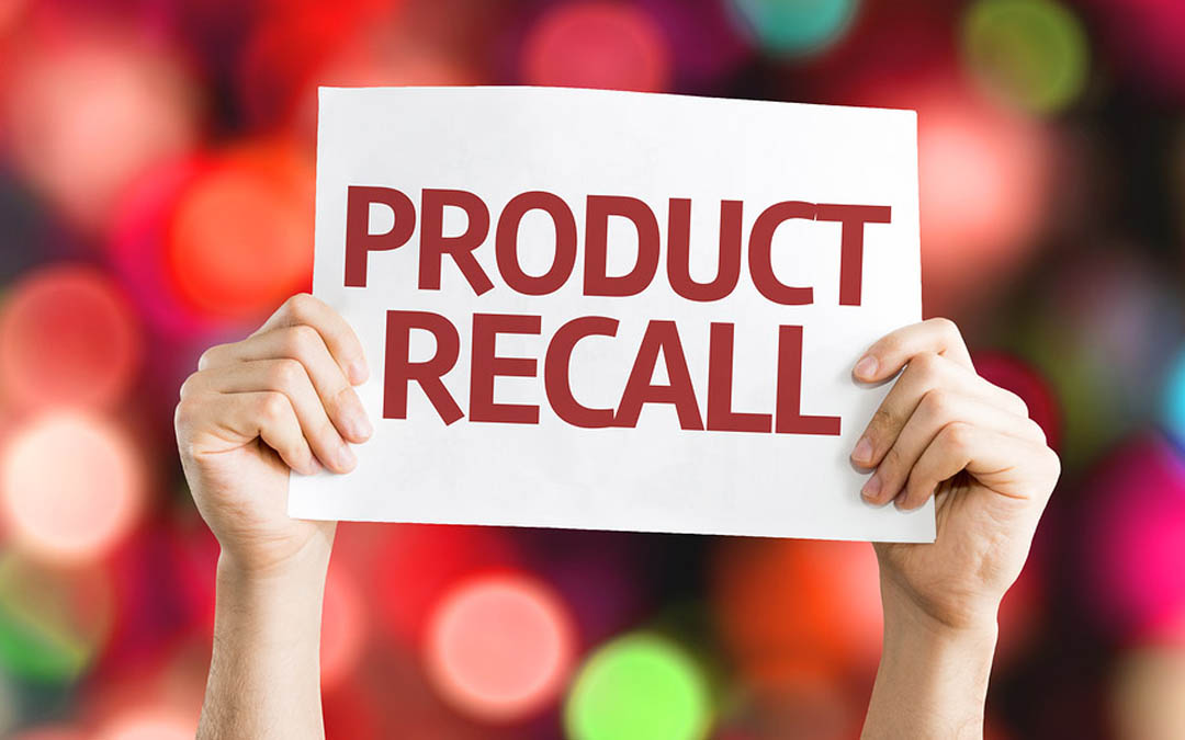 Important Product Recall Notices for December 2018