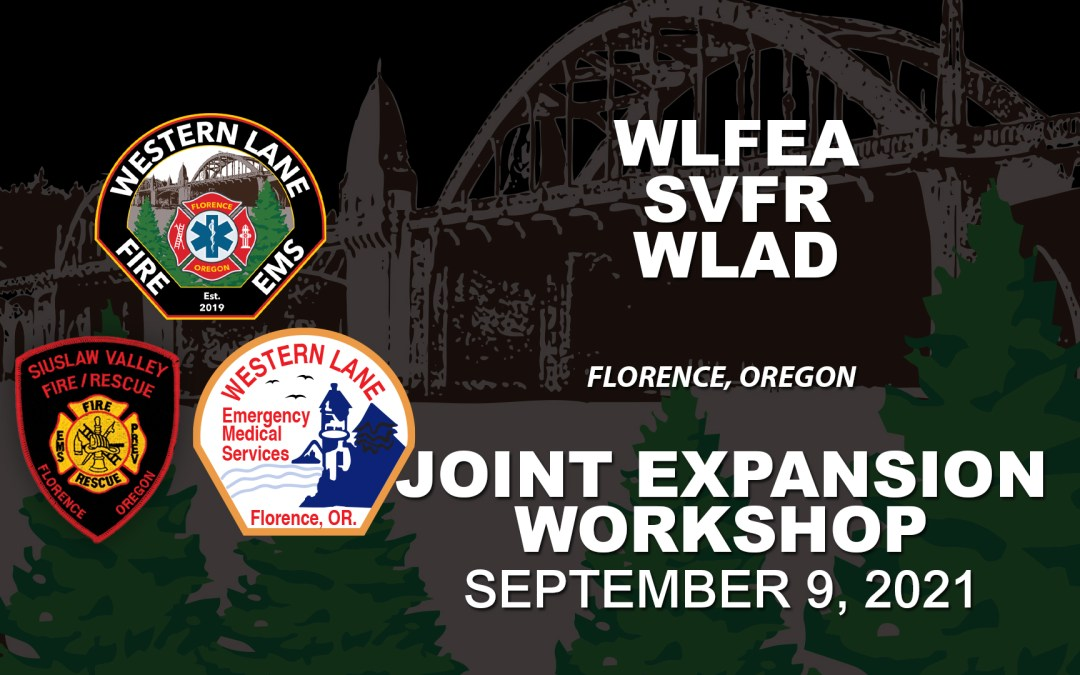 WLFEA/SVFR/WLAD Joint Expansion Workshop – September 9, 2021
