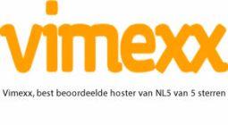 Vimexx, best beoordeelde hoster van NL 5 van 5 sterren