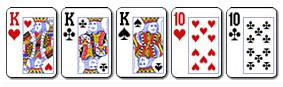 5 poker tri i dvije karte iste jacine