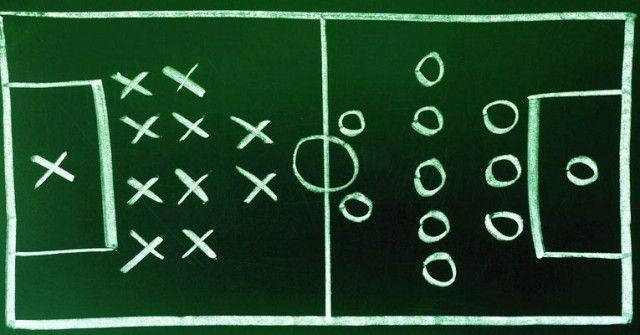 Taktika nogomet