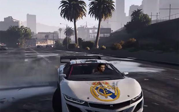 Cristiano Ronaldo GTA V