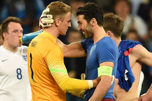 Joe Hart i Gianluigi Buffon