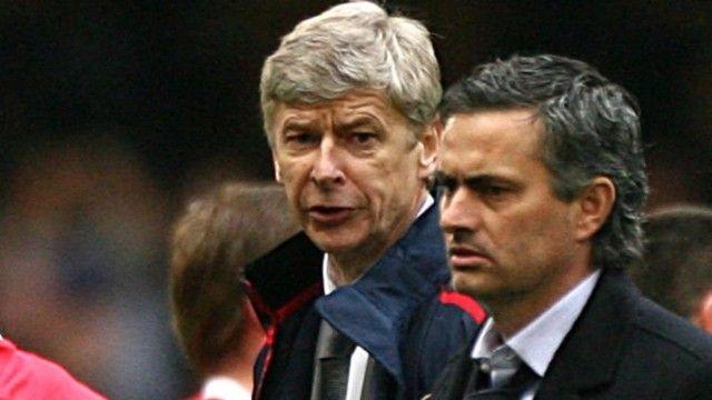 Arsene Wenger i Jose Mourinho - Arhiva