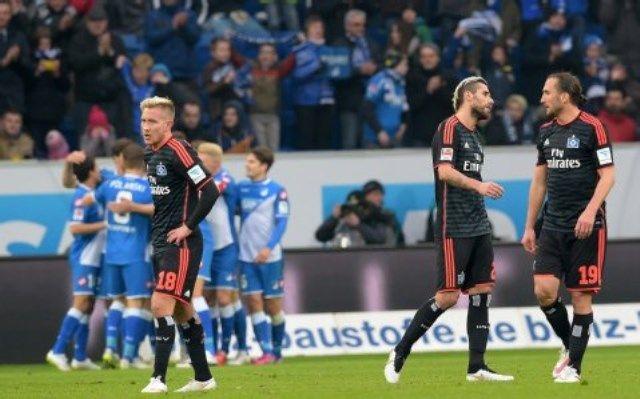 Hoffenheim - HSV, slavlje gola