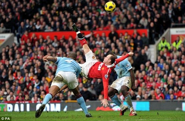Manchester United - Manchester City, Rooney
