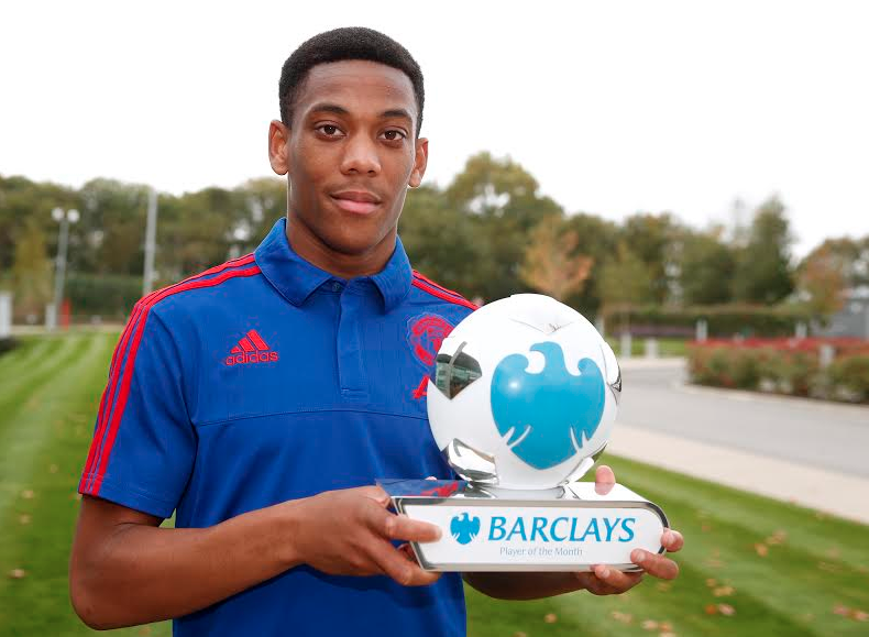 Martial-barclays-player-of-the-month-award1