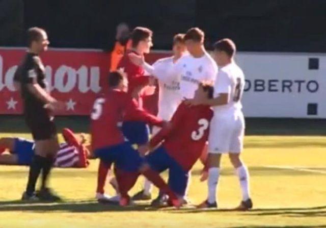 Luca Zidane glavom udario protivnika