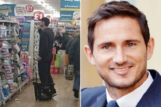 Frank Lampard uhvaćen na djelu