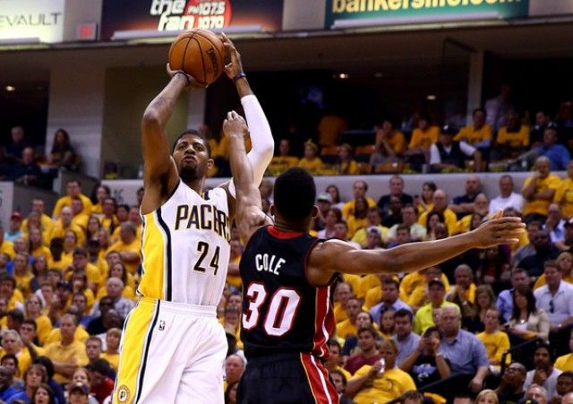 Norris-Cole-Paul-George-NBA-Miami-Heat-Indiana-Pacers-640x451