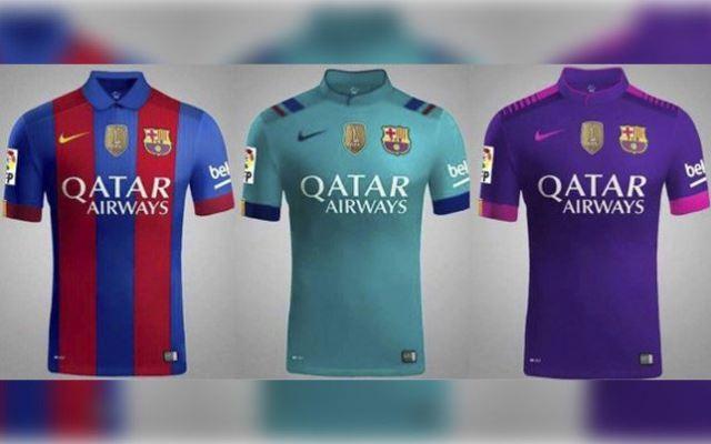 Procurili dresovi Barcelone