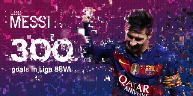 Messi postigao 300. gol