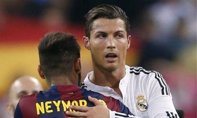 Neymar dobio tortu u lice