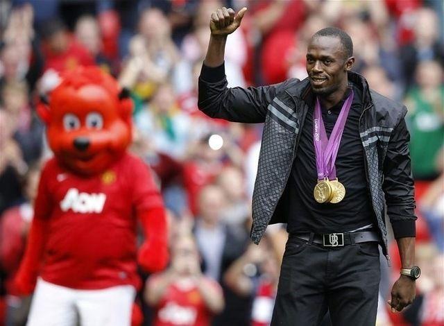 Usain Bolt nezadovoljan formom svog Manchester Uniteda