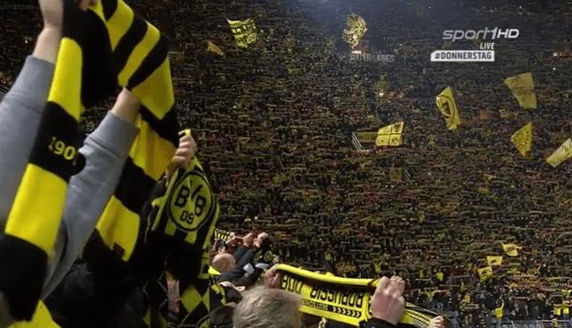 Ovako je zvučala himna You'll never walk alone sinoć u Dortmundu!
